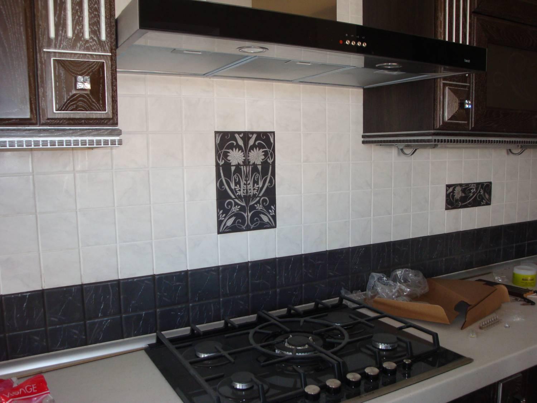 Дизайн на кухне рабочие стенки